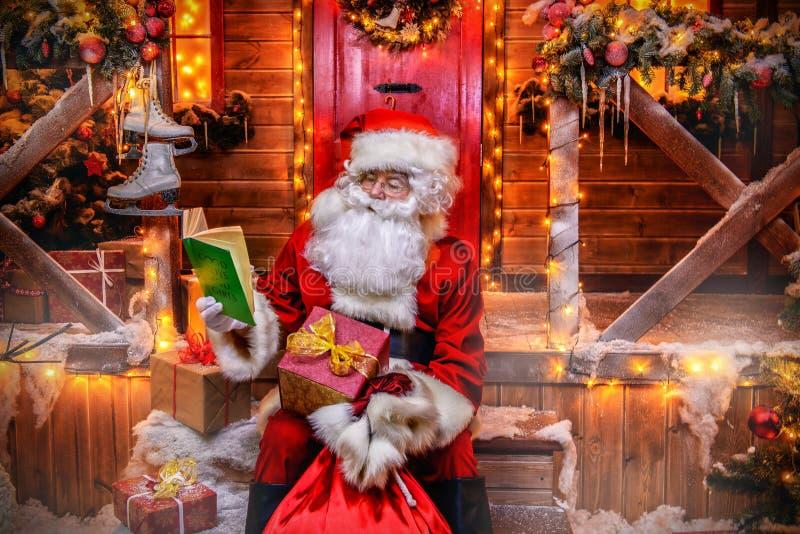 Vorbereitung für Weihnachten stockbilder