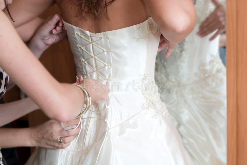 Vorbereitung zur Hochzeit lizenzfreie stockfotos