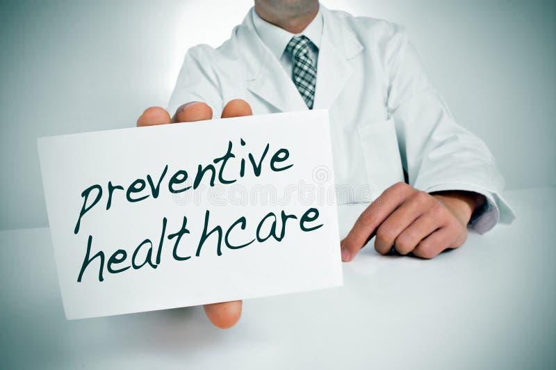 Vorbeugendes Gesundheitswesen lizenzfreies stockfoto