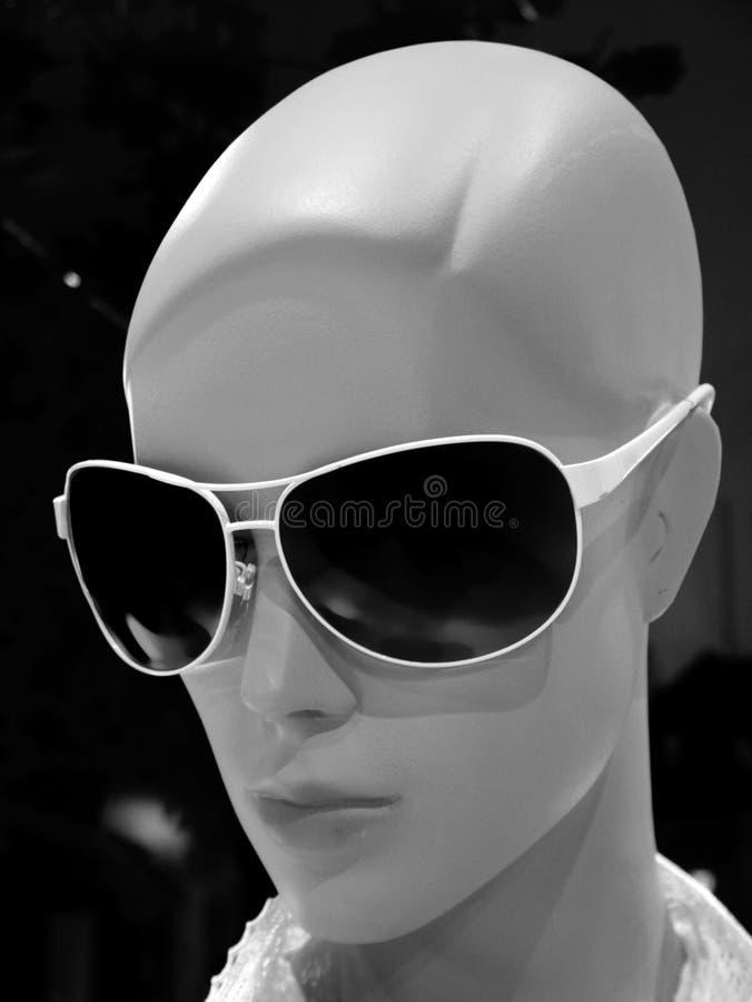 Vorbildliches Gesicht der Frau lizenzfreies stockbild