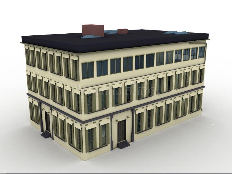 Vorbildliches Haus vektor abbildung