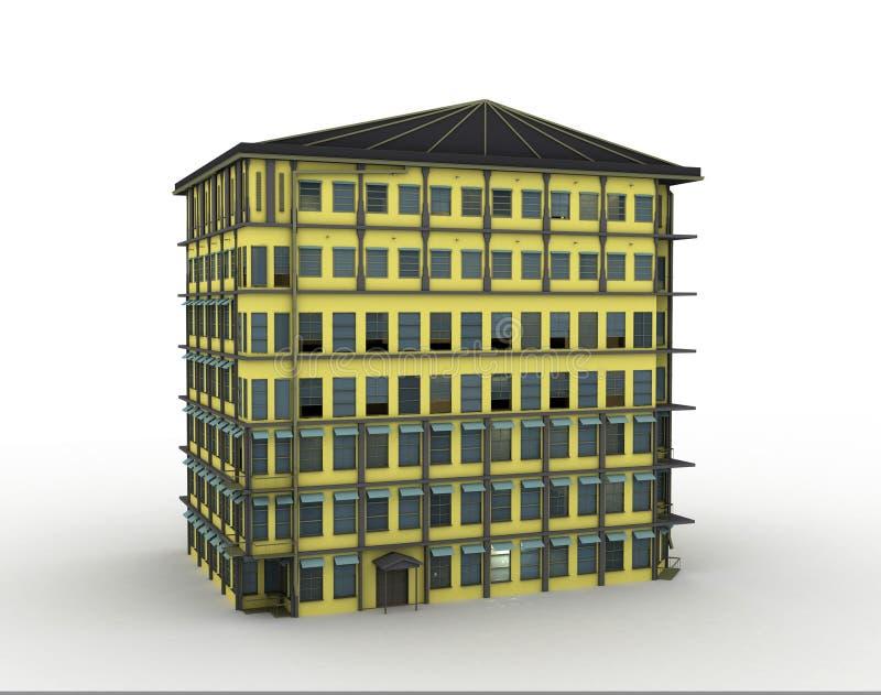Vorbildliches Haus stock abbildung