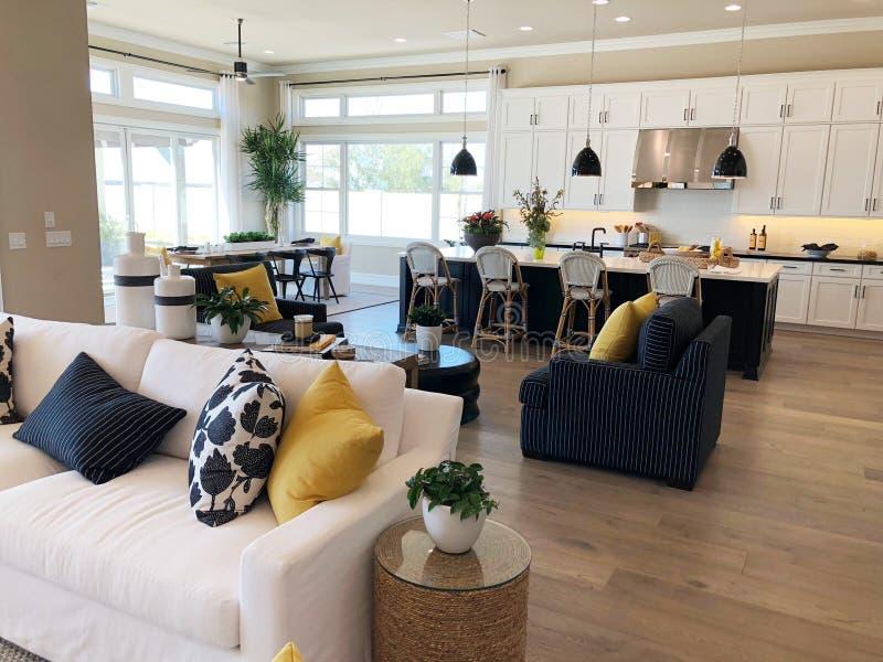 Vorbildliches Luxury Home Interior lizenzfreie stockfotografie