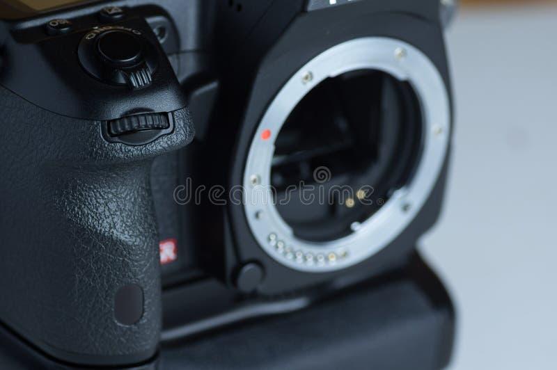 Vordere Spiegelreflexkamera lizenzfreie stockfotografie