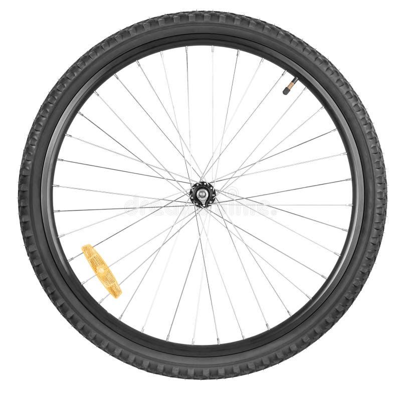 Vorderradmountainbike lizenzfreies stockbild