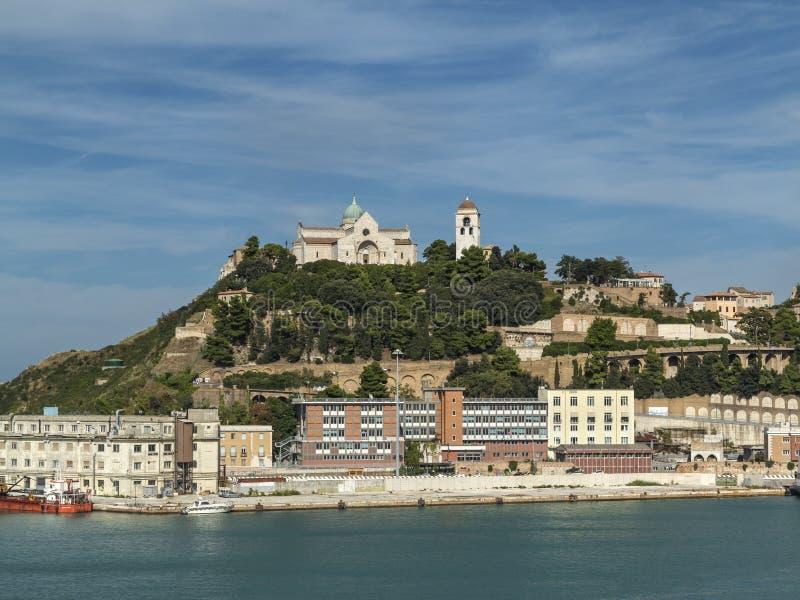 Vorgebirge in Ancona lizenzfreies stockbild