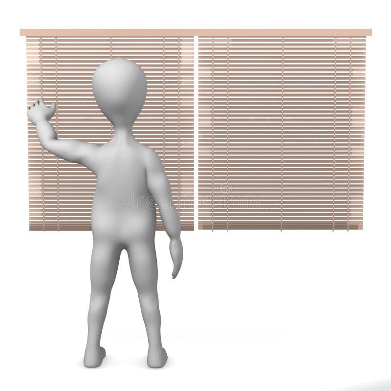 Vorhänge stock abbildung