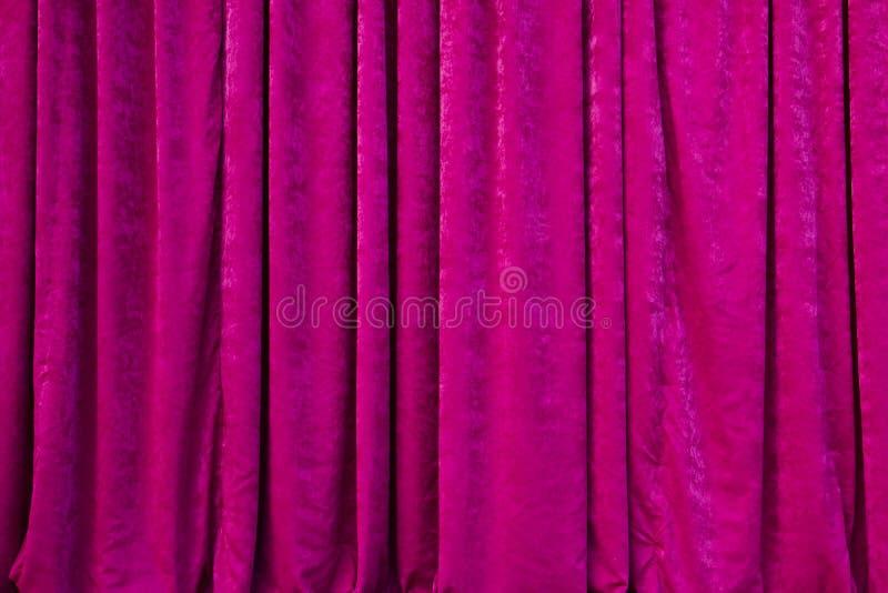 Vorhänge im Theater stockfoto