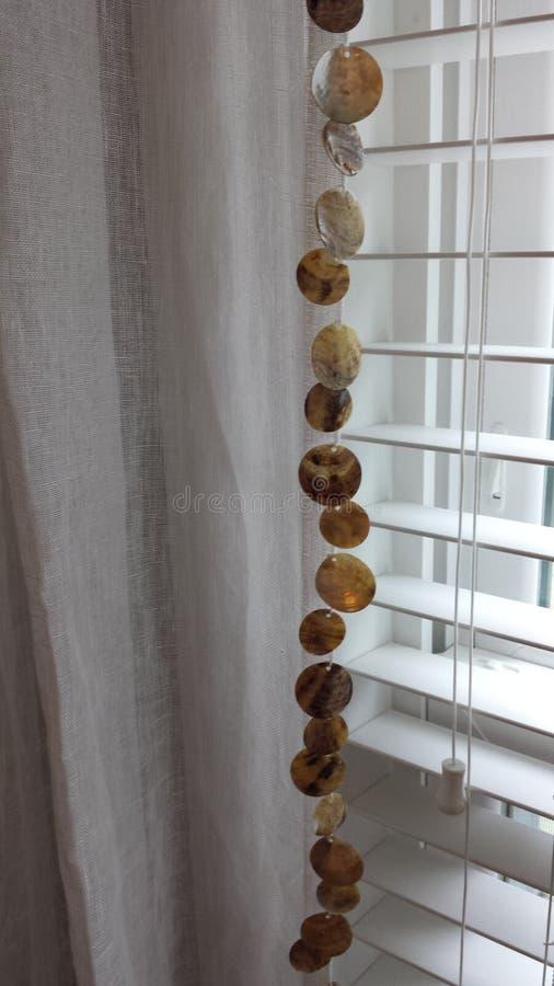 Vorhang-Detail stockfoto