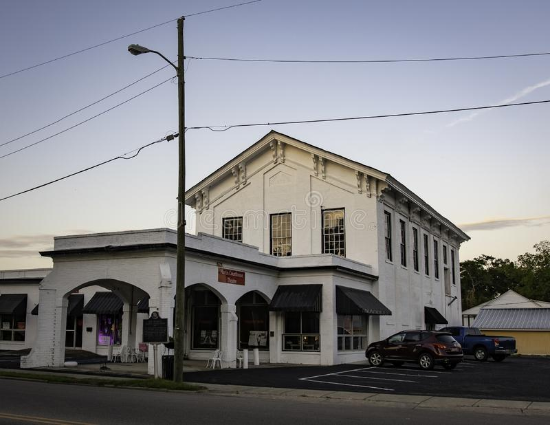 Vorhergehendes Autauga County Gericht lizenzfreie stockfotografie