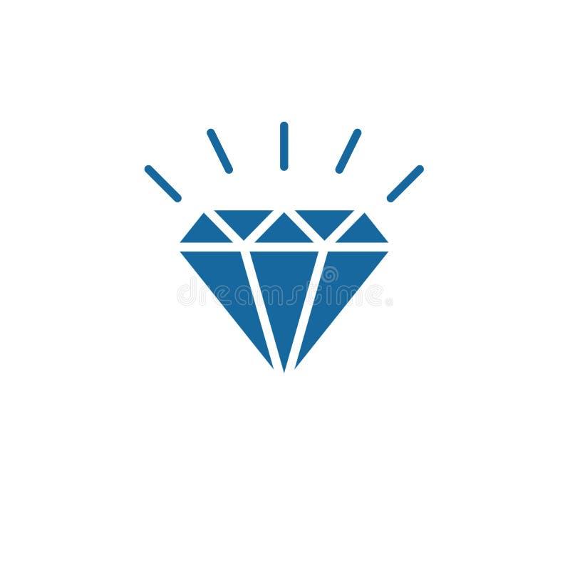 Vorlage für Diamantlogos vektor abbildung