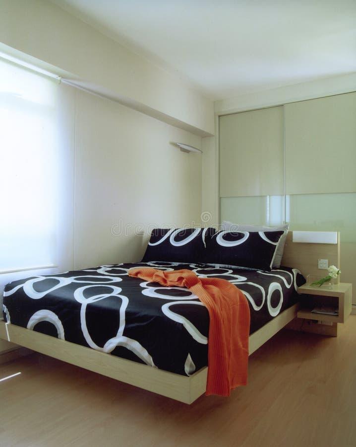 Vorlagenschlafzimmer lizenzfreie stockfotografie