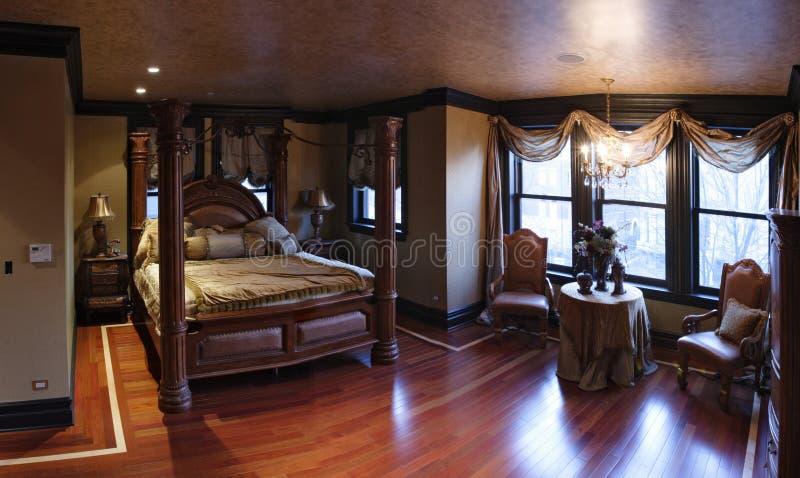 Vorlagenschlafzimmer lizenzfreies stockbild