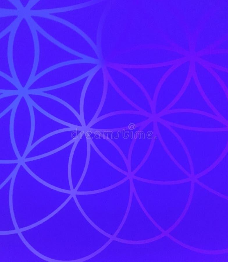 Vormen in purple royalty-vrije stock foto