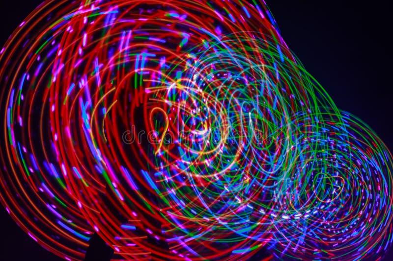 Vormen van licht stock foto