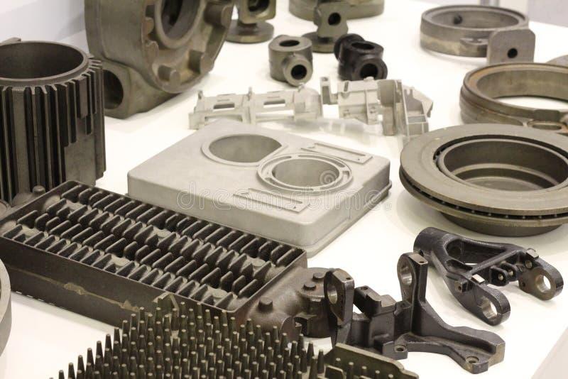 Vormende producten van uitgebreid op kunststoffen stock foto's