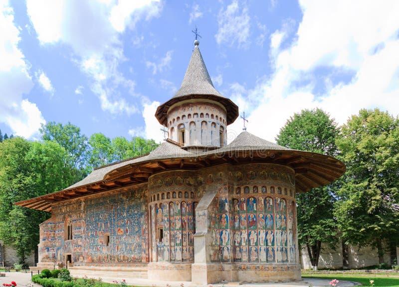 Download Voronet Monastery stock photo. Image of bukovina, heritage - 10480436