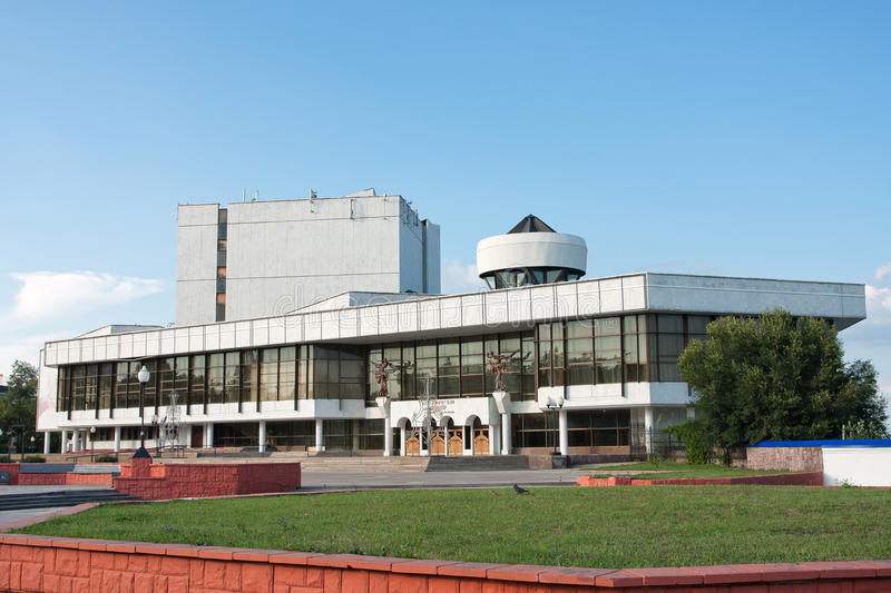 Voronezh academic drama theatre. Of a name of A. Koltsov royalty free stock photo