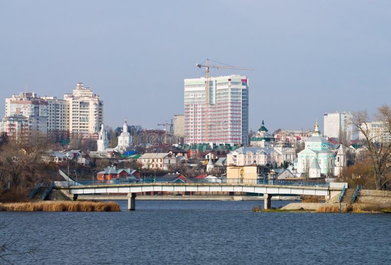 Voronezh im November stockfotos
