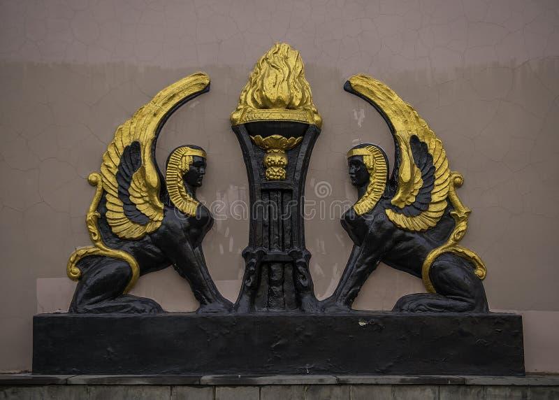 Voronezh, Rosja skrzydła - zdjęcia stock