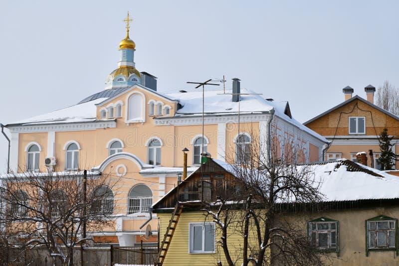 Voronezh, Rusia Architectur tradicional imagen de archivo libre de regalías