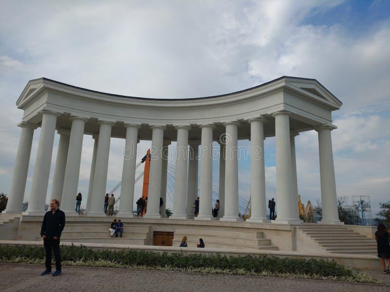 Vorontsov Palace. Castle, odessa, fortress stock photo