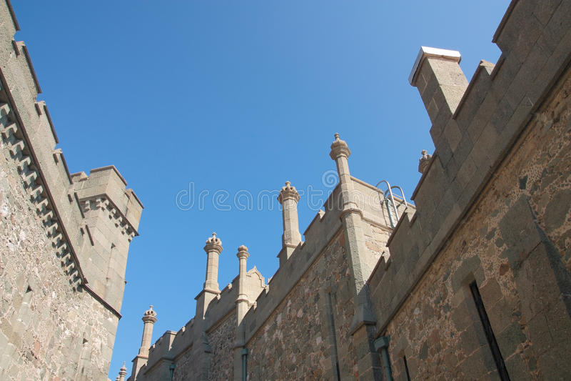 Vorontsov Palace in Crimea royalty free stock photography