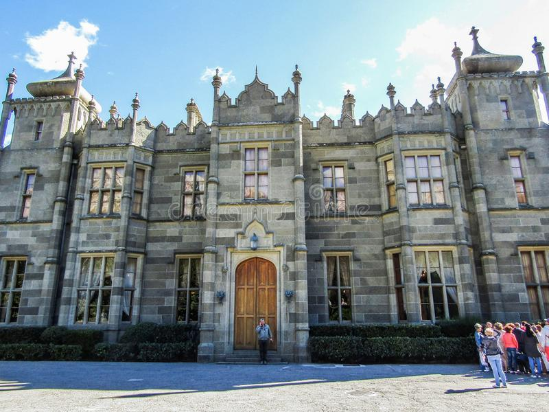 Vorontsov palace. A historical monument of architecture stock photos