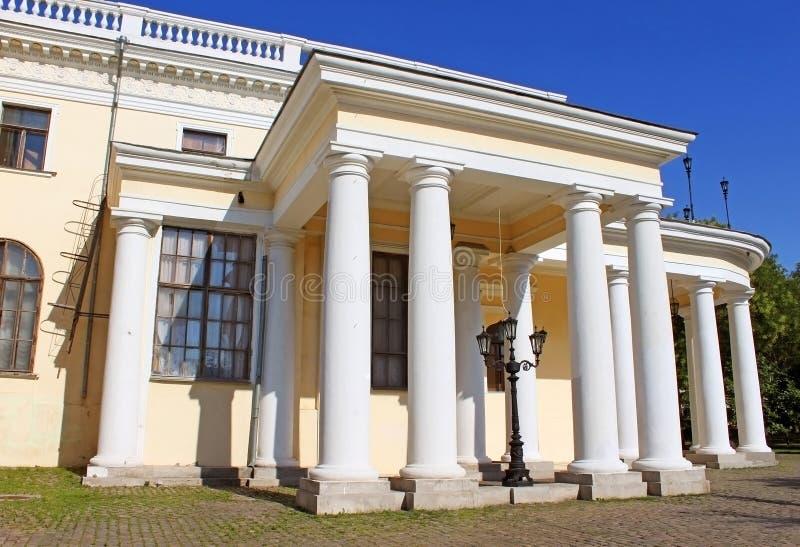 Vorontsov Palace in Odessa, Ukraine. Famous Vorontsov Palace in Odessa, Ukraine, Europe royalty free stock photos