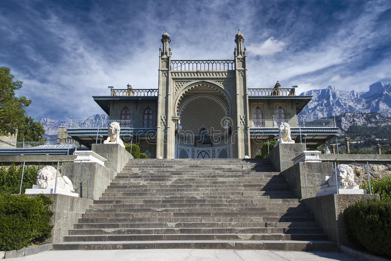 Vorontsov slott arkivfoton