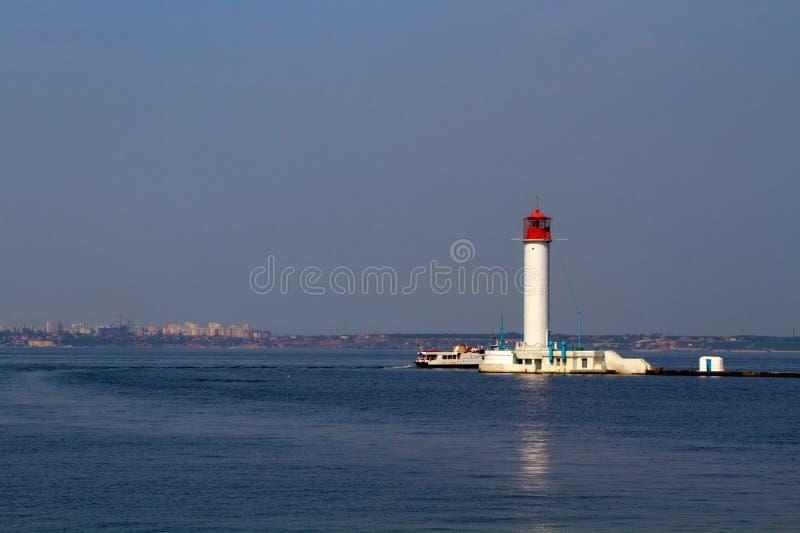 Vorontsovsky latarnia morska zdjęcie royalty free