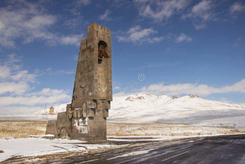 Vorotan przepustka, Armenia obraz royalty free