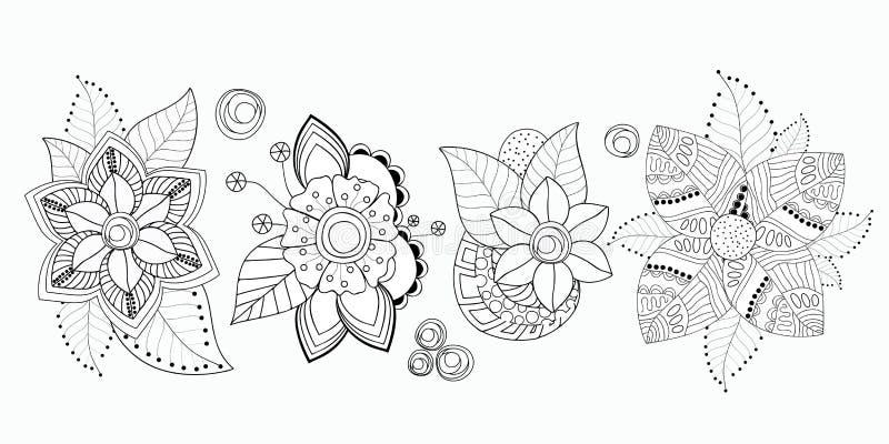 Vorratsatz des flolar Blumenstraußes orientalisch oder arabisch, Russland t stockbild