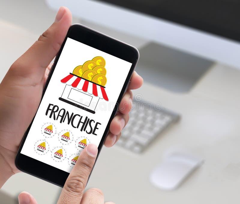 VORRECHT Marketing-Branding-Einzelhandels-und Geschäfts-Arbeits-Auftrag stockfoto