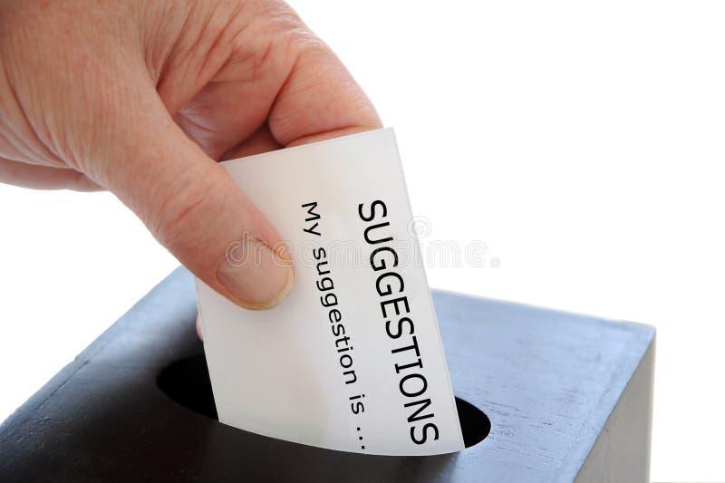 Vorschlags-Kasten