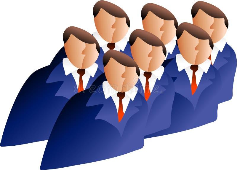 Vorstandssitzung stock abbildung