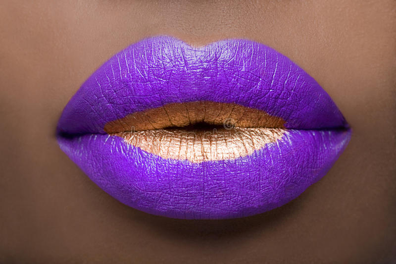 Vorstelijke Lippen royalty-vrije stock fotografie