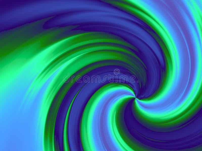 Download Vortex stock illustration. Illustration of curve, blue - 516508