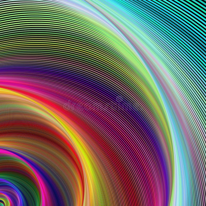 Vortex of colors stock photography
