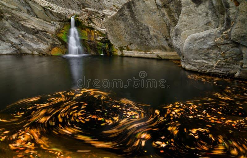 Vortex de cascade photo libre de droits