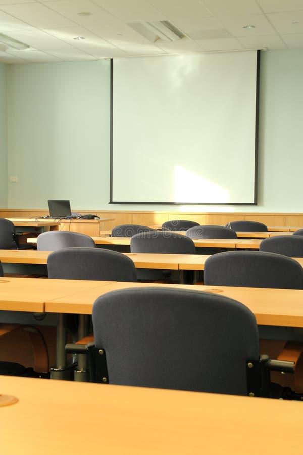 Vortrag-und Seminar-Raum lizenzfreie stockfotografie