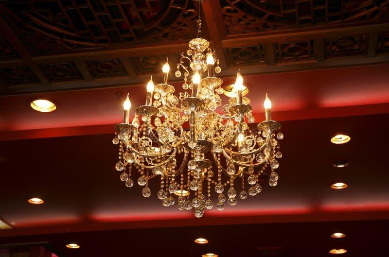 Vorzügliche hängende Lampe lizenzfreies stockfoto