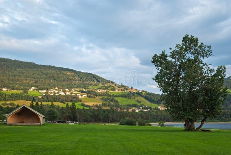 Download Voss, Norvège photo stock. Image du scandinavia, panorama - 45362216