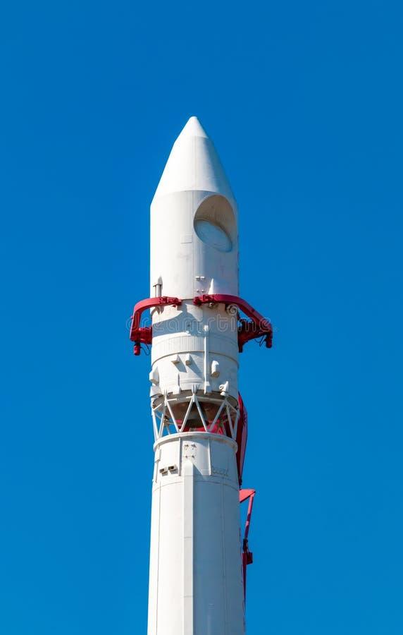 Vostok 1 monument de fus?e sur VDNH ? Moscou photographie stock libre de droits