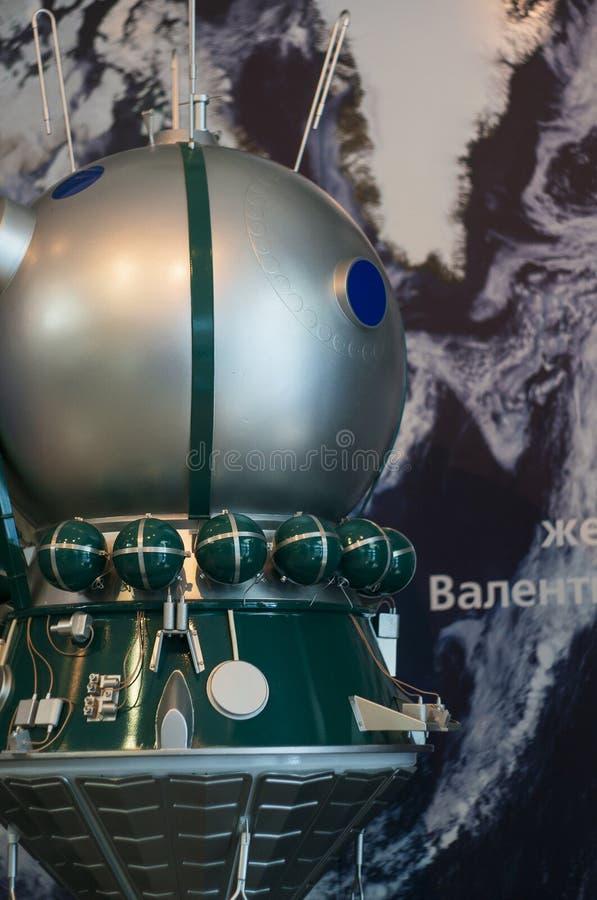 Vostok-6 ruimtevaartuig stock foto