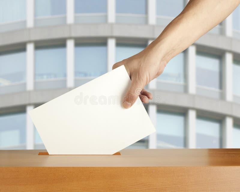 Votação fotos de stock