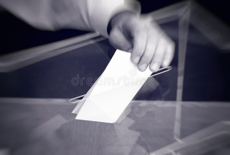 Votação, eleições imagem de stock