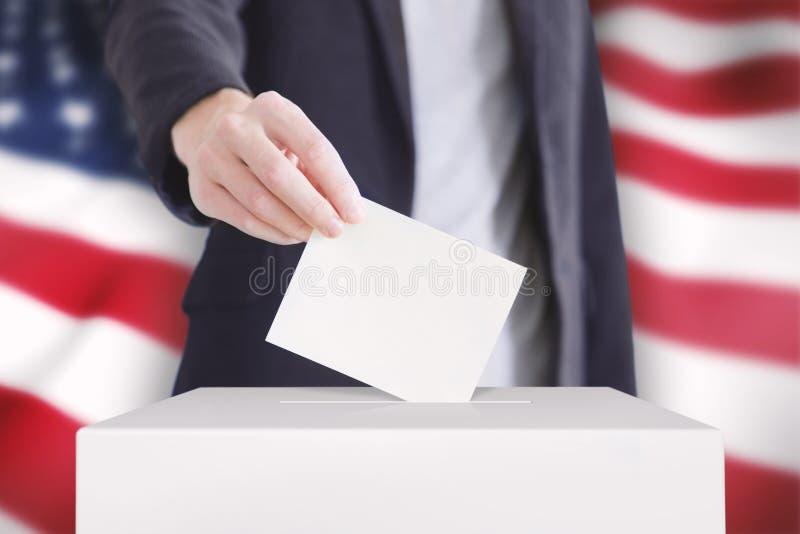 votación imagen de archivo libre de regalías