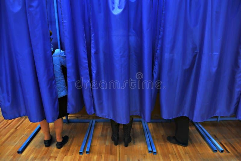 Votaci?n de la gente fotografía de archivo libre de regalías