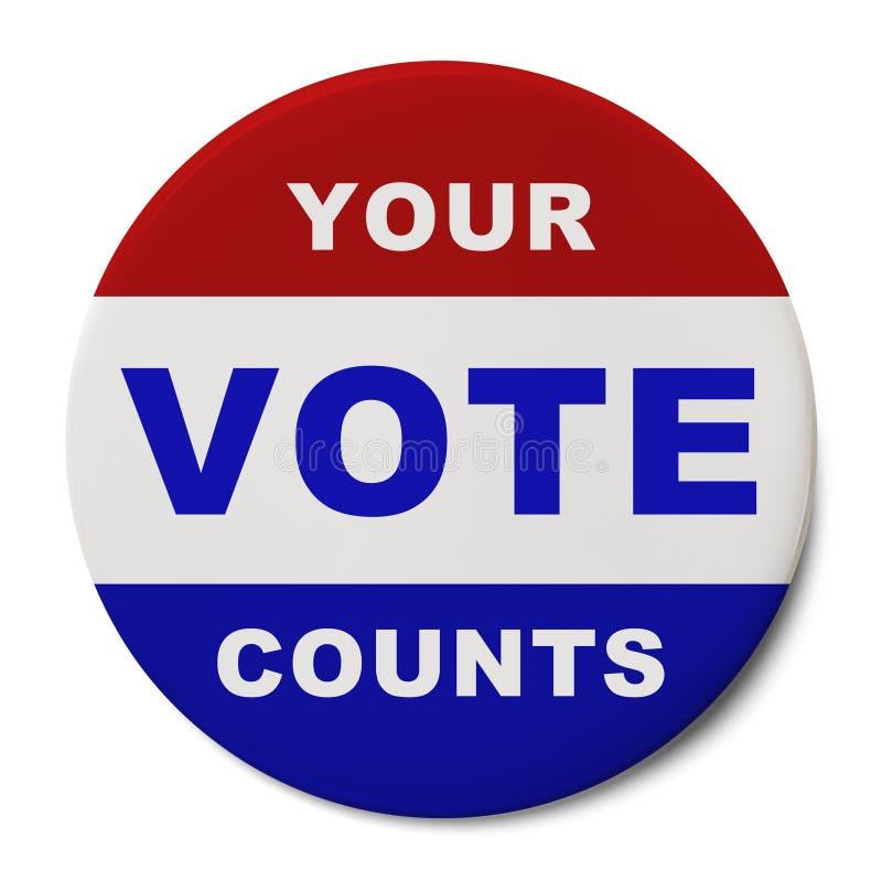 Votar fotografia de stock royalty free